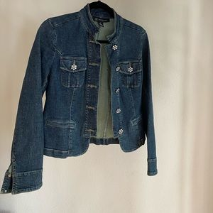I.N.C jeans jacket 98% cotton